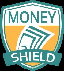 Sandy Gum from Money Shield logo