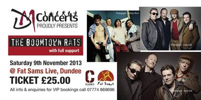 THE BOOMTOWN RATS LIVE GIG