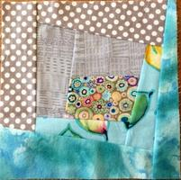 wonky log cabin quilt block workshop