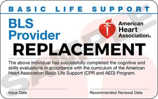 BLS Basic Life Support CPR AED Classroom Course