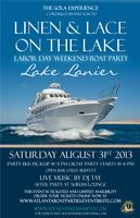 Linen & Lace Labor Day Weekend Boat Party
