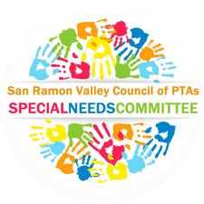 The San Ramon Valley Council of PTAs' Special Needs Committee logo