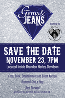 Gems & Jeans Ball :  Nov. 23rd