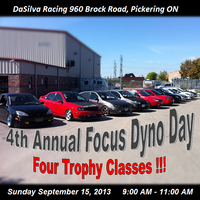 4th Annual Focus and Friends Dyno Day