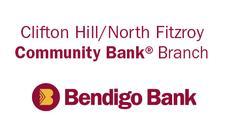 Clifton Hill / North Fitzroy Community Bank, Branch of Bendigo Bank logo
