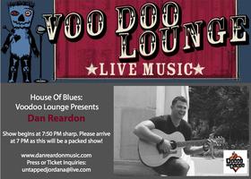 Dan Reardon Live @ the House of Blues - Voodoo Lounge