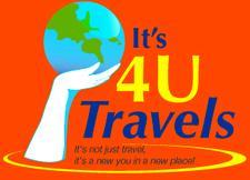 It's 4 U Travels, LLC logo