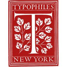 The Typophiles, Inc.  logo