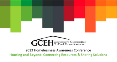 GCEH 2013 Homelessness Awareness Conference