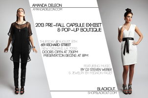 blackout. & Amanda deLeon: Pre-Fall Exhibit