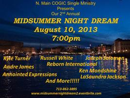 N. Main COGIC Single Ministry presents Our 2nd Annual...
