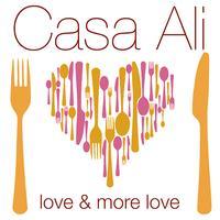 Casa Ali ~ 24th August Vegetarian menu dinner