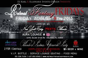 Retreat to Fantasy Fridays | Orlando's Premier...