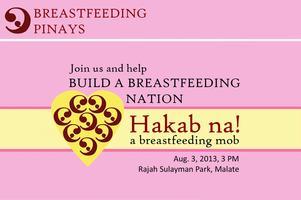 Breastfeeding Pinays: Hakab na! A Breastfeeding Mob
