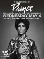 Celebration of Prince w/ Purple Pam (DJ Pam The...