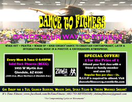 Dance To Fitness - Begins Sept 30, 2013, Every Monday