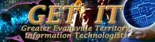 GET IT (Greater Evansville Territory Information Technologists) logo