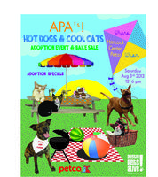 HOT DOGS AND COOL CATS ADOPTION EVENT!