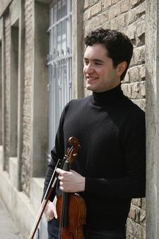 Joshua Peckins, violinist logo