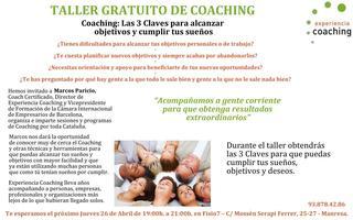 Coaching: Las 3 Claves para alcanzar Objetivos y...
