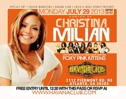 Industry Mondays hosted by CHRISTINA MILIAN