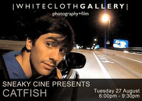 White Cloth Gallery in partnership Sneaky Ciné...