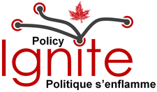Policy IGNITE! Politique s'enflamme!  logo