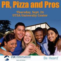 CANCELLED: UTSA Student Mixer, IABC Internship Fair & Panel...