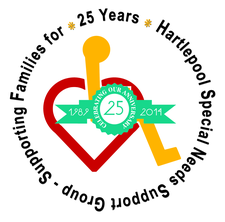 Hartlepool Special Needs Support Group logo