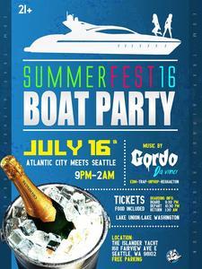 Splash house Boat Parties logo