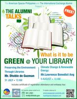 What is it to be GREEN @ Your Library