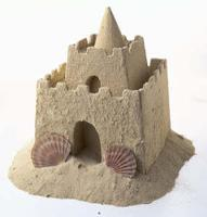 Long-Lasting Sandcastle Craft