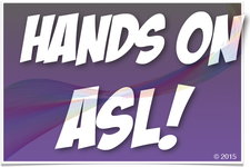 Hands On ASL! logo