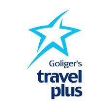Goliger's Travel Plus logo