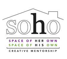 SOHO - Space Of Her Own / Space of His Own logo