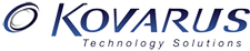 Kovarus and EMC logo