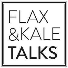 Flax & Kale Talks logo
