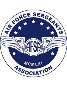 Air Force Sergeants Association (AFSA) Chapter 1372 logo