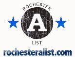 Rochester A-List logo