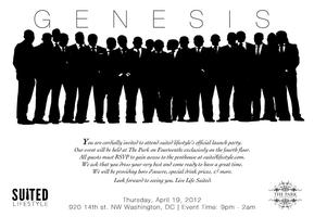 """Suited Lifestyle Launch Party - """"Genesis"""""""