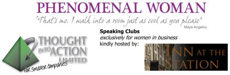 Speaking Club for women in business logo