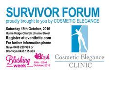 Blush Survivor Forum 2016