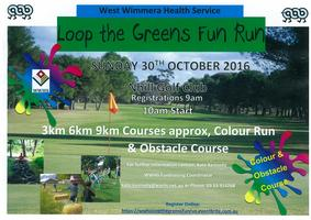 West Wimmera Health Service 'Loop the Greens'