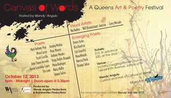CANVAS OF WORDS- A Queens Art & Poetry Festival