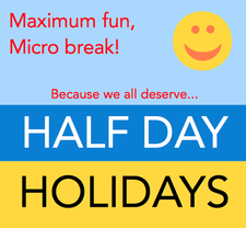 Half Day Holidays logo