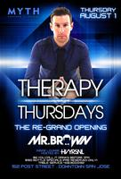 GRAND OPENING OF THERAPY THURSDAYS | MYTH LOUNGE | MR...