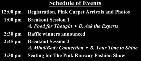 The Pink Runway 2013!!