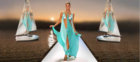 The Catwalk on the Dock ~ Summer Fashion Show...