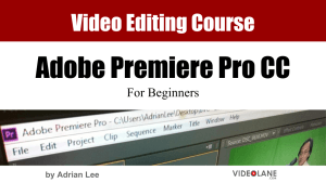 1-Day Video Editing Course on Adobe Premiere Pro CC...