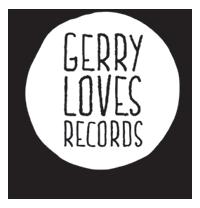 Gerry Loves Records logo